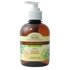 Зеленая аптека Нежный гель для умывания для нормальной и жирной кожи Зеленый чай 270 мл