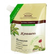 """Зеленая аптека Шампунь """"Женьшень"""" Для волос жирных у корней и сухих на кончиках"""